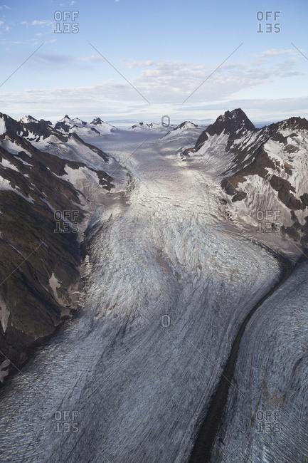 A Glacier In Kachemak Bay State Park; Alaska, United States Of America