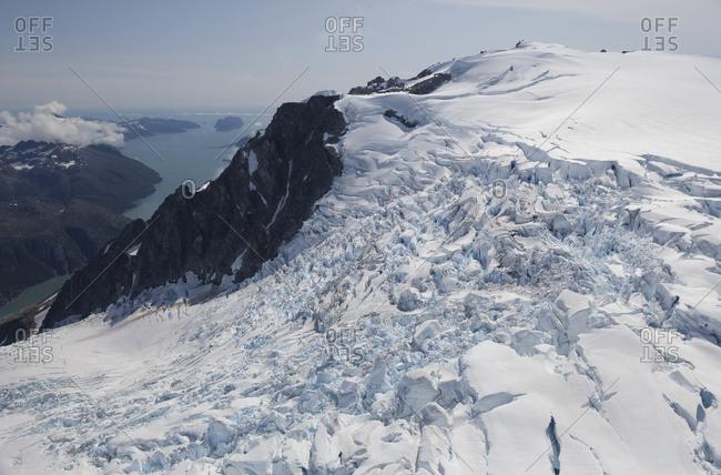 Northwestern Glacier, Northwestern Fjord, Kenai Fjords National Park; Alaska, United States Of America
