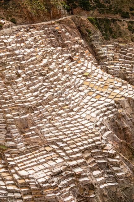 Maras Salt Flats, Sacred Valley; Cuzco Province, Peru