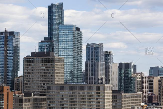 Skyscraper condominiums in downtown Toronto; Toronto, Ontario, Canada
