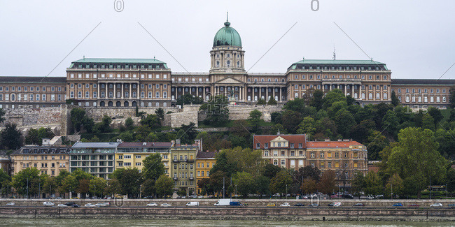 Buda Castle, a baroque palace; Budapest, Budapest, Hungary