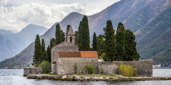 Benedictine Monastery in Perast, Bay of Kotor; Perast, Kotor Municipality, Montenegro