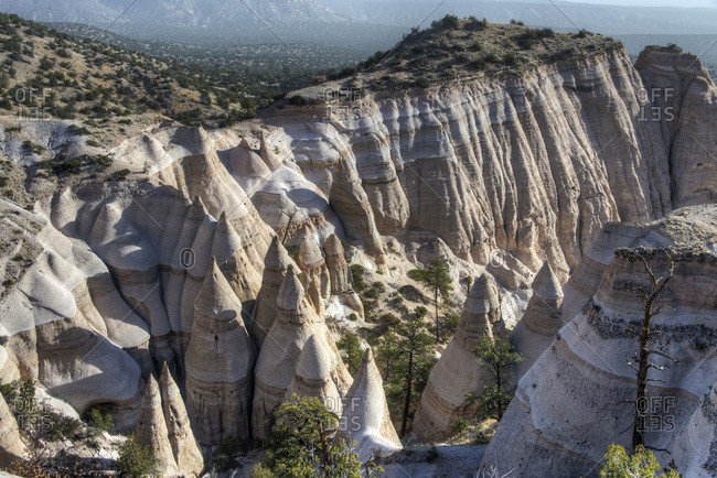 Tent Rocks National Monument; New Mexico, United States Of America