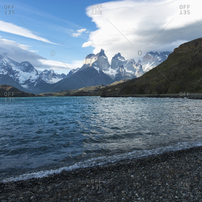 Grey Lake, Torres Del Paine National Park; Torres Del Paine, Magallanes And Antarctica Chilena Region, Chile