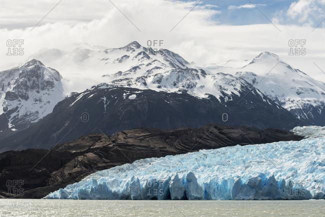 Grey Glacier And Grey Lake, Torres Del Paine National Park; Torres Del Paine, Magallanes And Antarctica Chilena Region, Chile