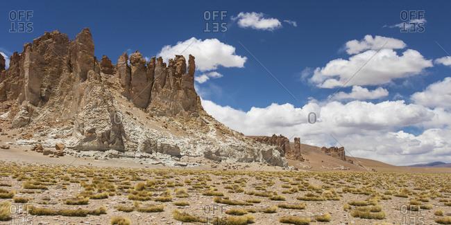 Tara Salt Flat, Salar De Atacama; San Pedro De Atacama, Antofagasta Region, Chile