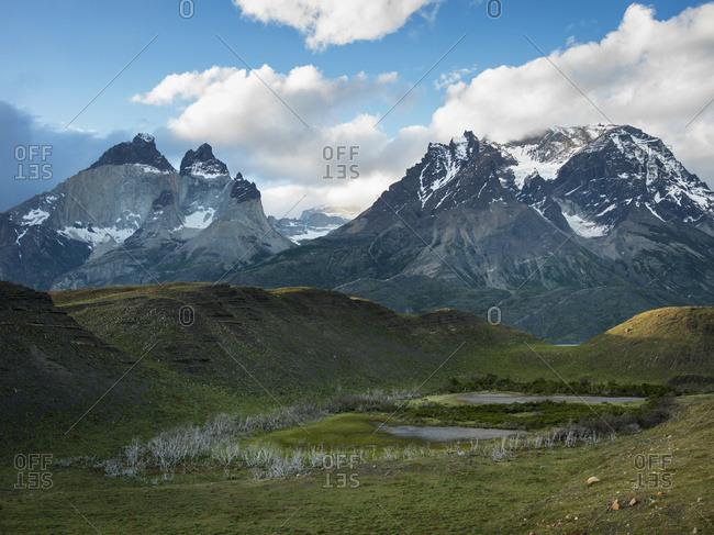 Torres Del Paine National Park; Torres Del Paine, Magallanes And Antarctica Chilena Region, Chile