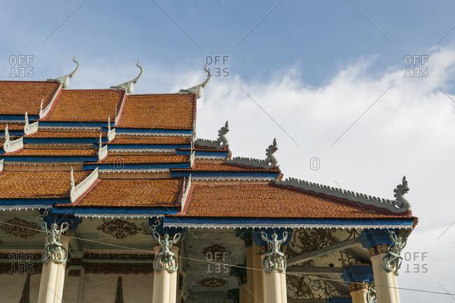 Buddhist Temple; Battambang, Cambodia