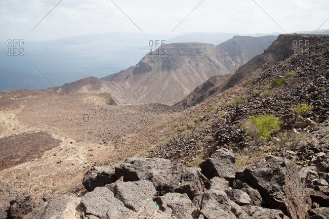 View Into The Bay Of Ghoubbet (Bay Of Demons), Gulf Of Tadjoura; Djibouti