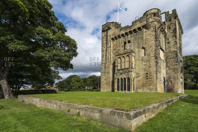 Hylton Castle; Sunderland, Tyne And Wear, England