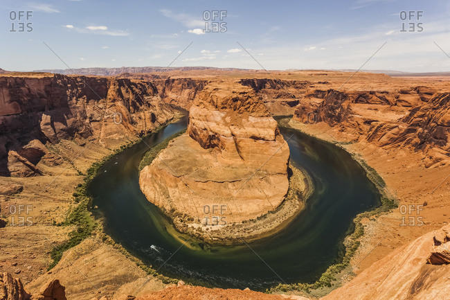 Colorado River, Horseshoe Bend; Arizona, United States Of America