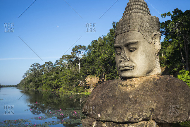 South Gate, Angkor Thom; Krong Siem Reap, Siem Reap Province, Cambodia