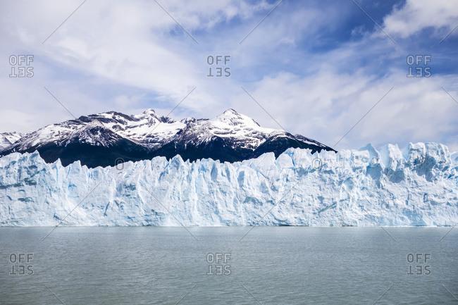 Perito Moreno Glacier In Los Glaciares National Park In Argentinian Patagonia, Near El Calafate; Santa Cruz Province, Argentina
