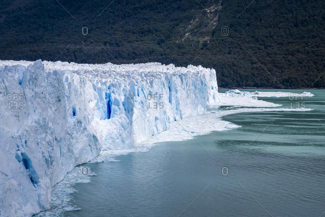 Perito Moreno Glacier In Los Glaciares National Park In Argentinian Patagonia, Near El Calafate; El Calafate, Santa Cruz Province, Argentina