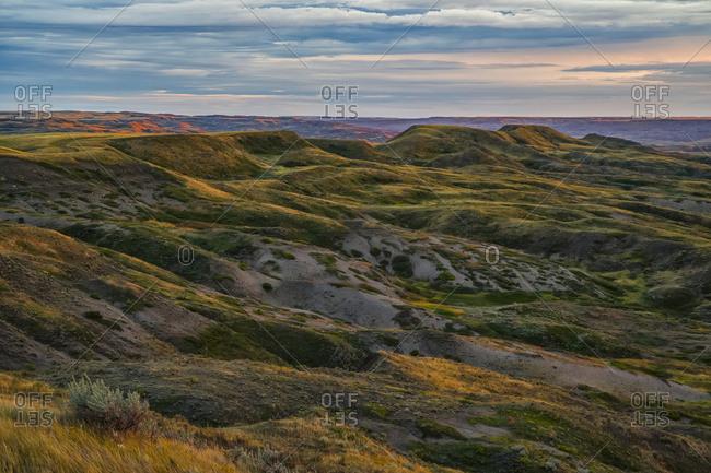 The Gillespie Region Of Grasslands National Park; Saskatchewan, Canada