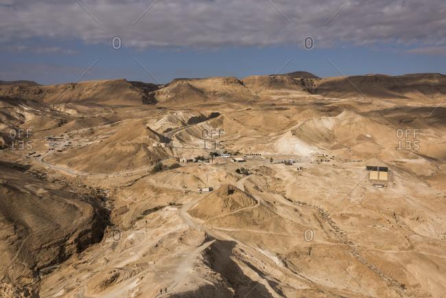 Extreme Terrain Of The Judaean Desert, Dead Sea Region; South District, Israel