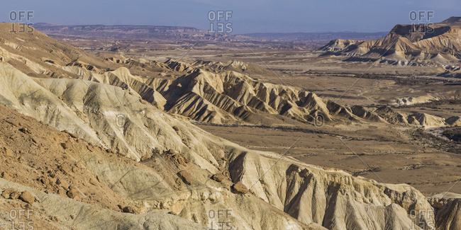Ben-Gurion�s Burial Site, Which Is Set In An Incredible Location Overlooking One Of The Most Striking And Impressive Views In The Negev; Har Hanegev Hatzfoni, South District, Israel