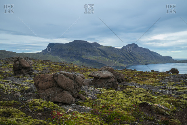 The Dramatic Landscape Of The Strandir Coast; Djupavik, Westfjords, Iceland