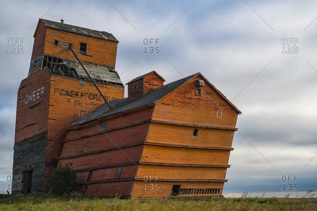 August 28, 2016: Abandoned Grain Elevator; White Bear, Saskatchewan, Canada