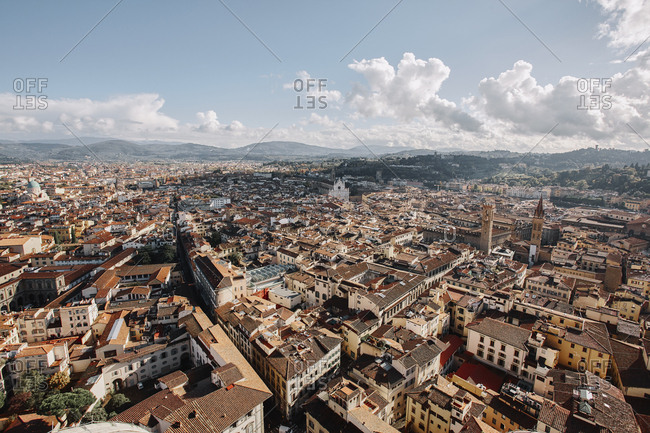 View of Florence from cathedral
