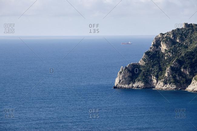 Open seaside in Capri
