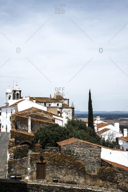 Old buildings in Monsaraz, Portugal