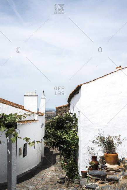 Buildings in Monsaraz, Portugal