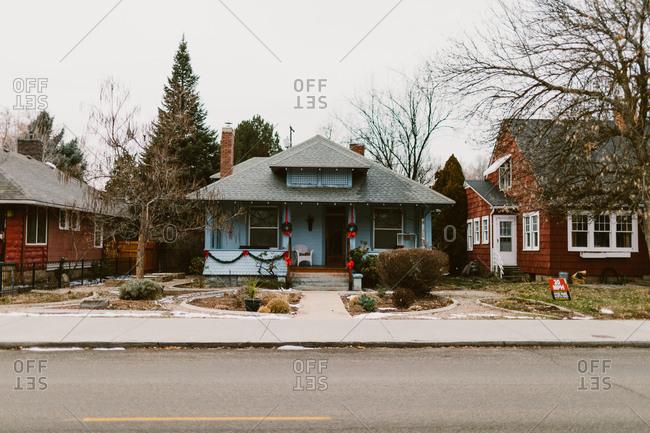 Houses in a historical neighborhood Boise, Idaho