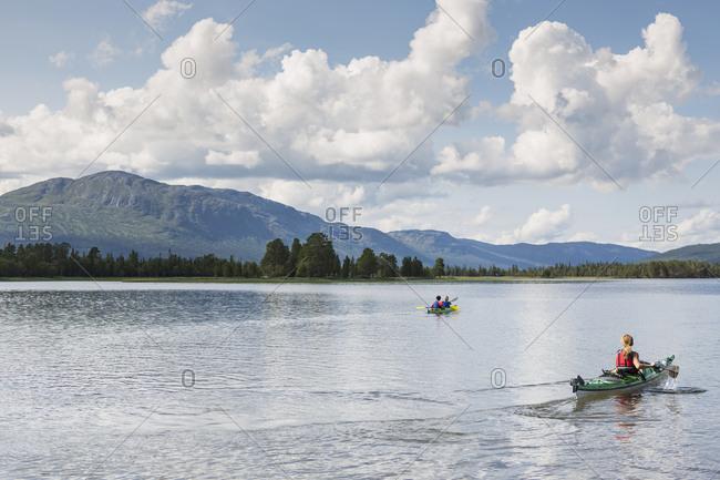 Lake in Jamtland, Sweden