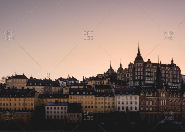 Buildings in Mariaberget, Sweden
