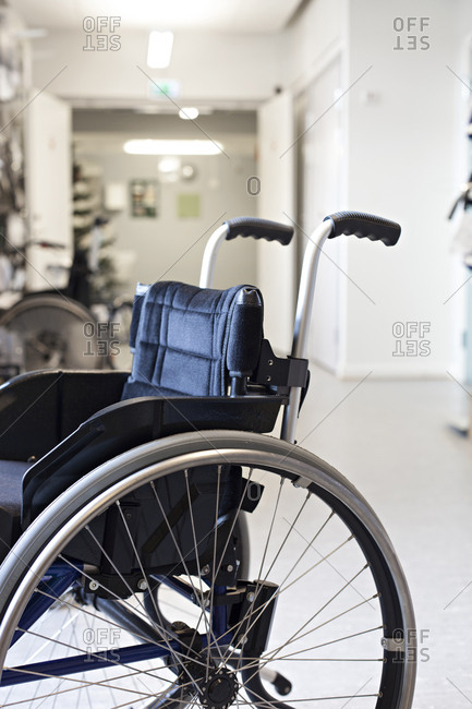 Newly manufactured wheelchair