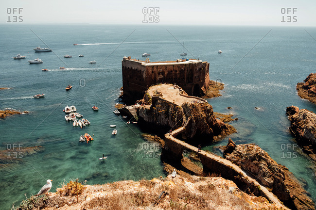 Fort of Sao Joao Baptista on Berlenga Island, Portugal