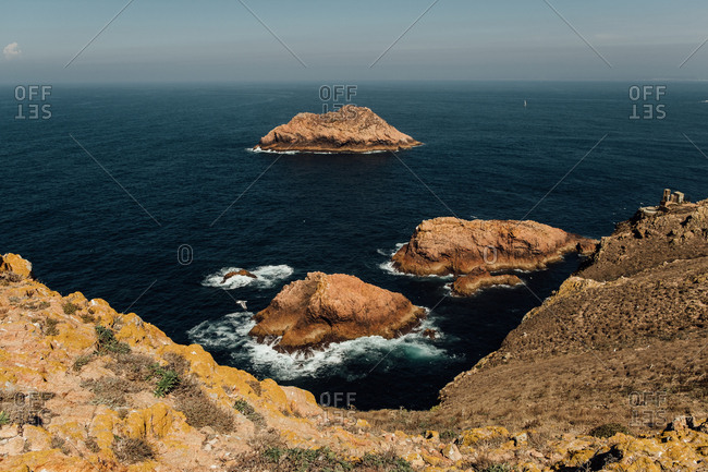 Coast of Berlenga Island, Portugal