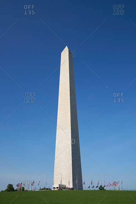 Washington DC - September 11, 2017: Washington Monument