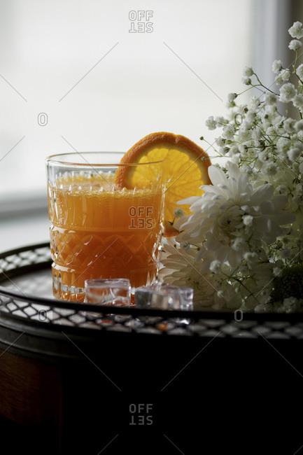 Orange Carrot Cocktail