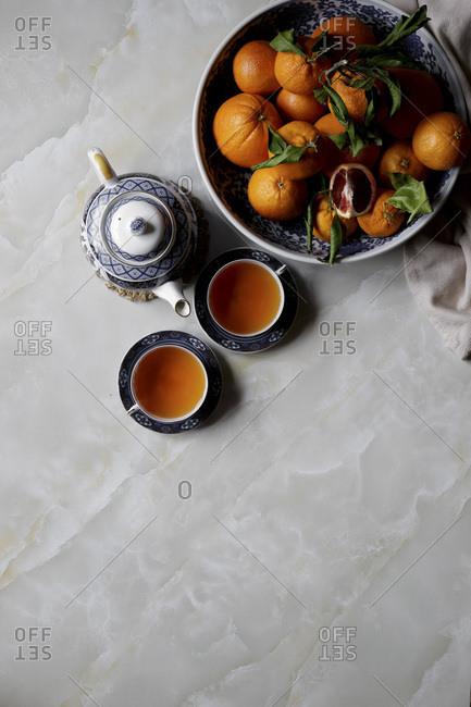 Orange and Tea