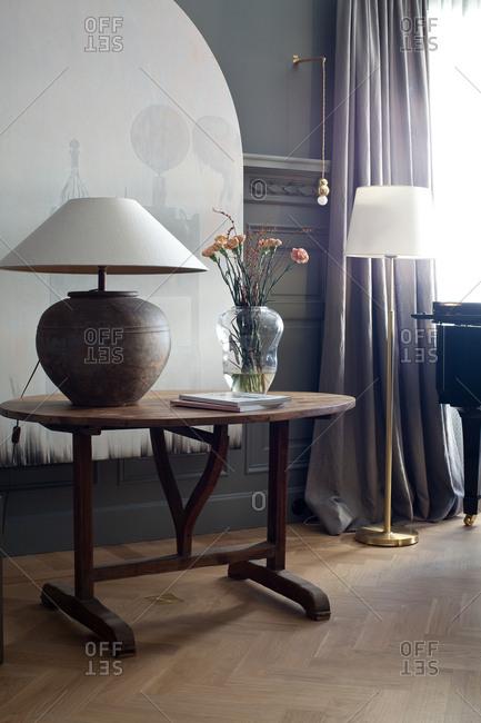 Stockholm, Sweden - September 25, 2008: Hotel interior