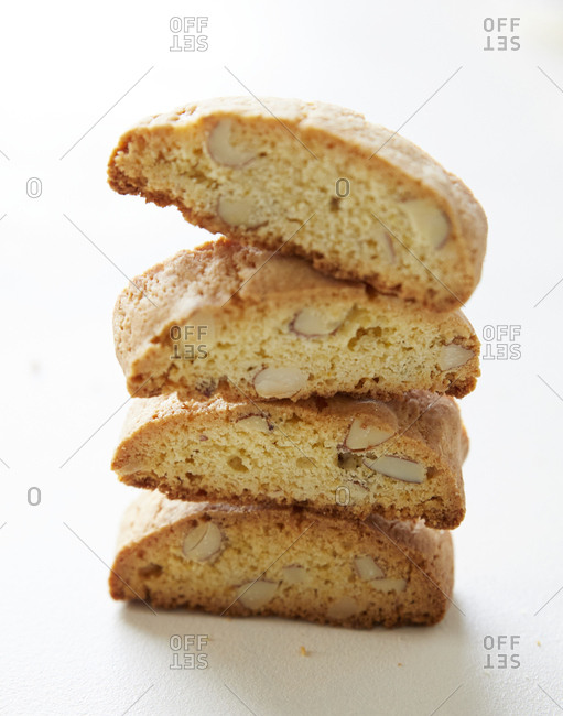 Stack of biscotti