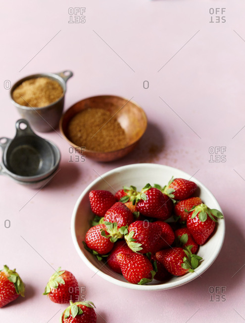 Strawberry Ingredients