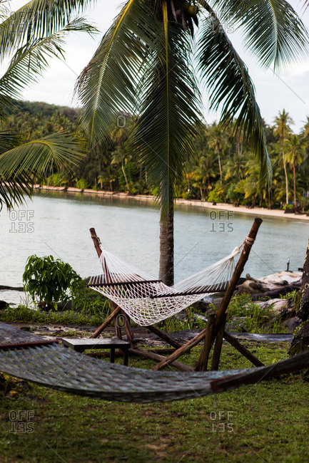 Hammock on the island of Koh Kood, Thailand