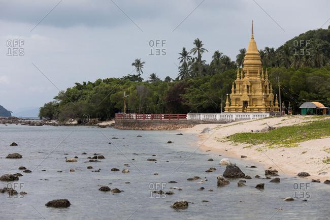A temple on the coast of Koh Samui, Thailand
