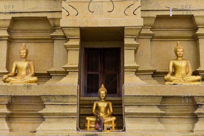 A temple in Koh Samui, Thailand
