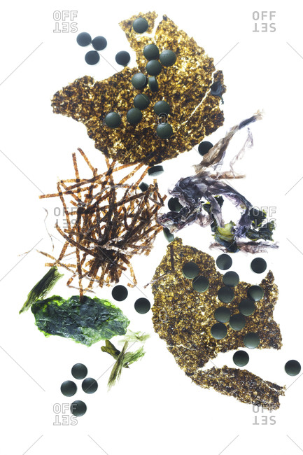 Seaweed tablets and seaweed