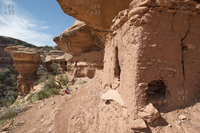 Moon House ruins, Cedar Mesa, Bears Ears National Monument, Utah, USA