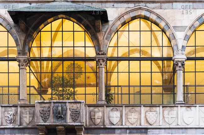 Italy- Milano- Loggia degli Osii at Piazza dei Mercanti