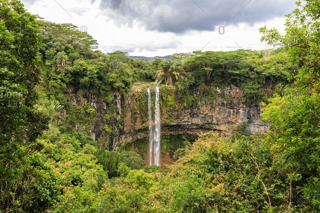 Mauritius- Chamarel- Chamarel waterfall