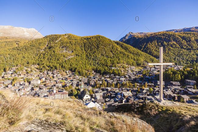 Switzerland- Valais- Zermatt- townscape
