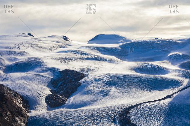 Switzerland- Valais- Zermatt- Monte Rosa- Monte Rosa massif- Monte Rosa Glacier- Gorner Glacier