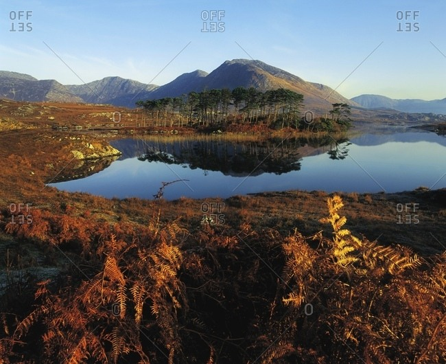 May 4, 2007: Twelve Bens, Derryclare Lough, Connemara, Co Galway, Ireland; Irish Landscape