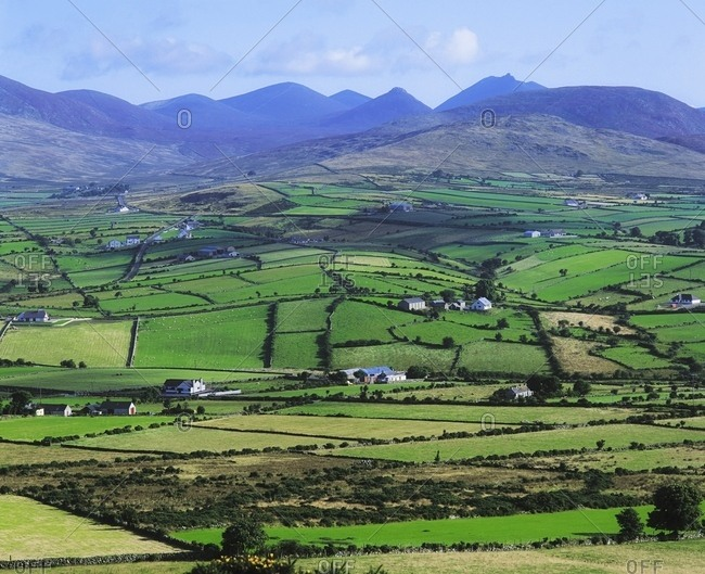 May 4, 2007: Mourne Mountains, Co Down, Ireland; Longshot Near Knockcree With Mountains In The Background